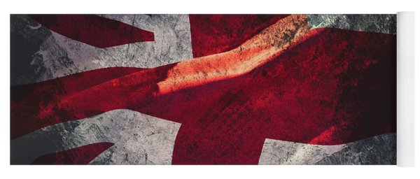 Union Jack Fine Art, Abstract Vision Of Great Britain Flag Yoga Mat