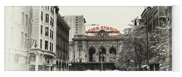 Yoga Mat featuring the photograph Union Station  by Susan Rissi Tregoning