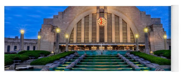 Union Terminal At Sunrise II Yoga Mat