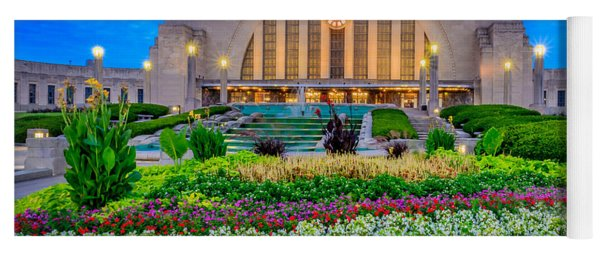 Union Terminal At Sunrise Yoga Mat