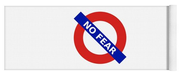 United Britain - No Fear Yoga Mat