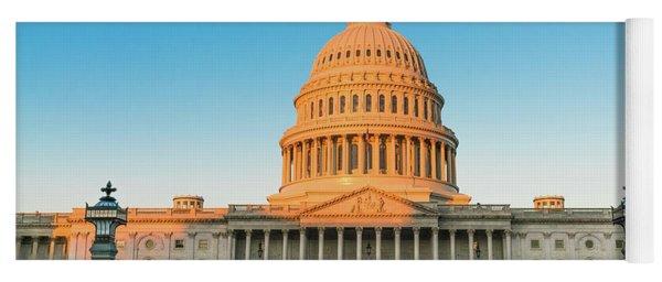 United States Capitol  Yoga Mat