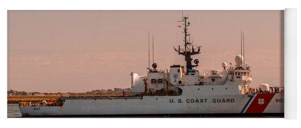 United States Coast Guard Cutter Escanaba Wmec-907 Yoga Mat