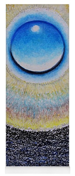 Universal Eye In Blue Yoga Mat