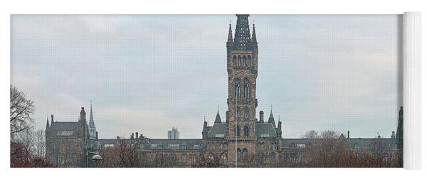 University Of Glasgow At Sunrise - Panorama Yoga Mat