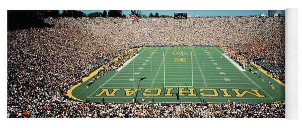 University Of Michigan Stadium, Ann Yoga Mat