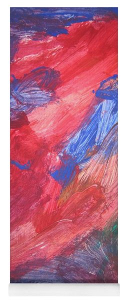 untitled 108 Original Painting Yoga Mat