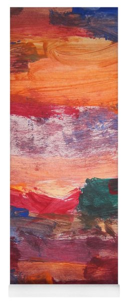 untitled 109 Original Painting Yoga Mat