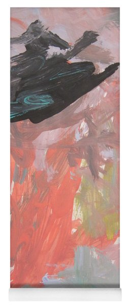 Untitled #11  Original Painting Yoga Mat