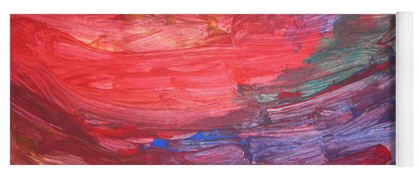 untitled 110 Original Painting Yoga Mat