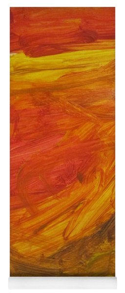 Untitled 112 Original Painting Yoga Mat