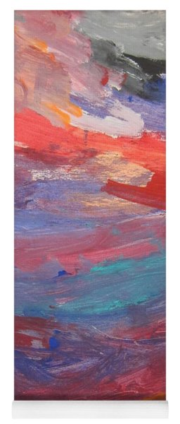 Untitled 96 Original Painting Yoga Mat