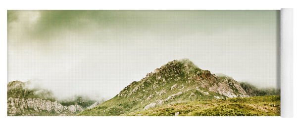 Untouched Mountain Wilderness Yoga Mat