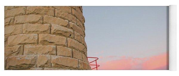 Close-up Detail Of The Cape Moreton Lighthouse Yoga Mat