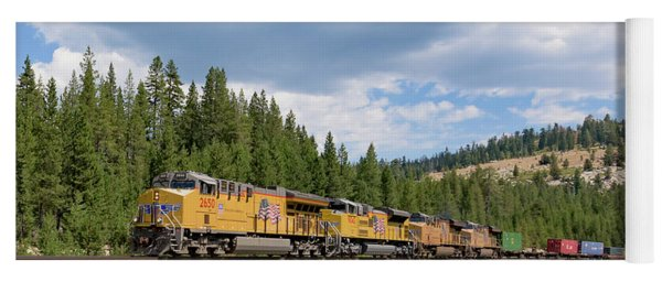 Up2650 Westbound From Donner Pass Yoga Mat