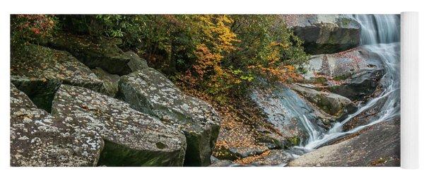 Upper Creek Falls Yoga Mat