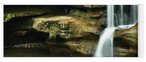 Upper Falls Closeup Yoga Mat