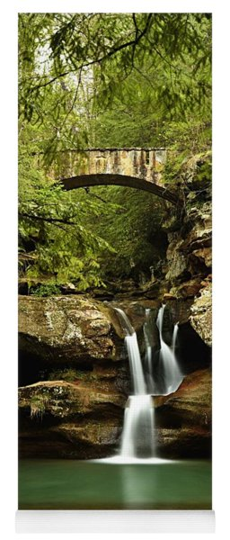 Upper Falls, Hocking Hills State Park Yoga Mat