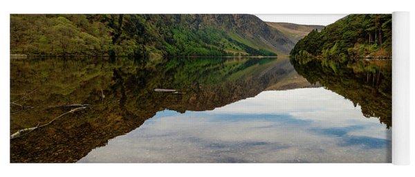 Upper Lake Glendalough Yoga Mat