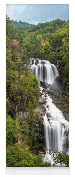 Upper Whitewater Falls Yoga Mat