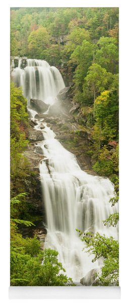 Upper Whitewater Falls Yoga Mat