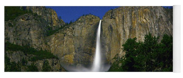 Upper Yosemite Falls Under The Stairs Yoga Mat