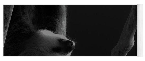 Upside Down Sloth Yoga Mat