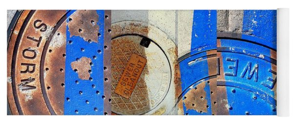 Urban Abstracts Compilations 6 Yoga Mat