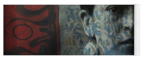 Us And Them - Frida Kahlo Yoga Mat