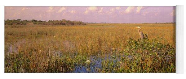 Usa, Florida, Everglades National Park Yoga Mat