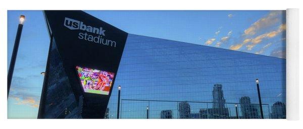 Usbank Stadium Morning Yoga Mat