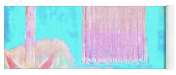 Used To Be Larry's Painterly Effect Yoga Mat