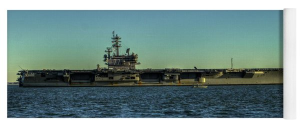 Uss George Hw. Bush Yoga Mat