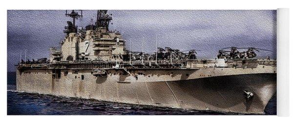 Uss Iwo Jima Lph2 Yoga Mat