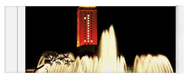 Ut Tower Poster Yoga Mat