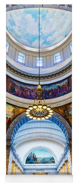 Utah State Capitol Rotunda #2 Yoga Mat