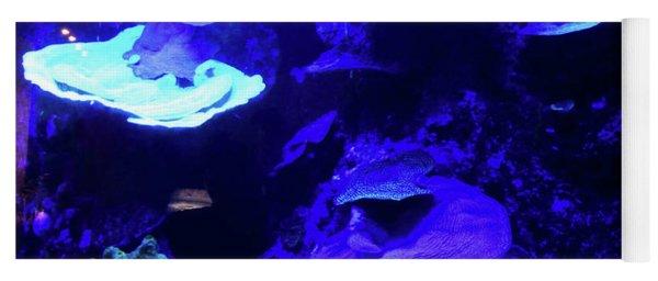 Uw Neon Coral Yoga Mat