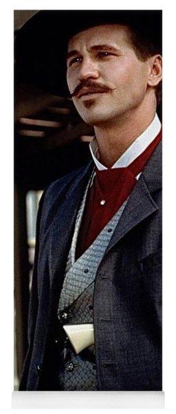 Val Kilmer As Doc Holliday Tombstone Set 1993-2015 Yoga Mat