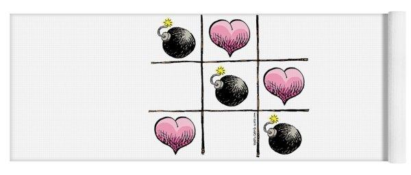 Valentine Violence Yoga Mat