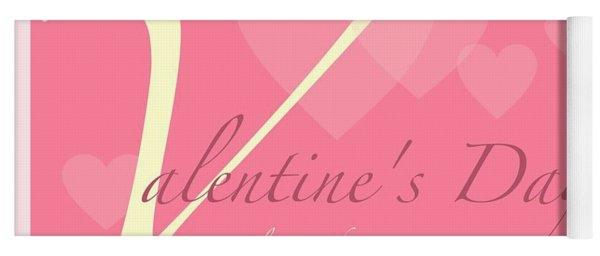 Valentine's Day Yoga Mat