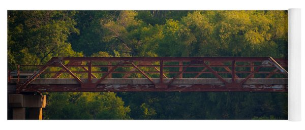 Valley Brook Bridge Yoga Mat