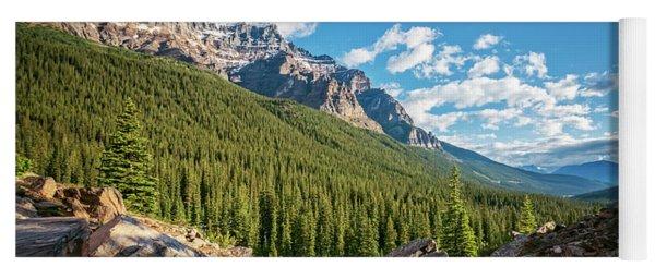 Valley Near Moraine Lake Banff Yoga Mat