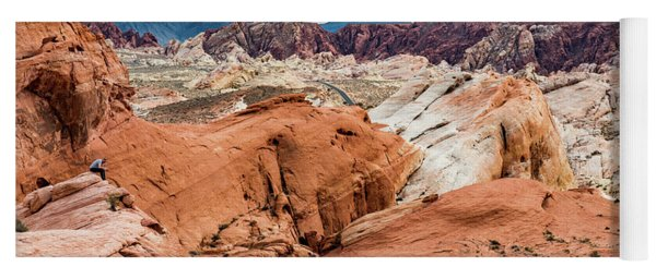Valley Of Fire  Yoga Mat