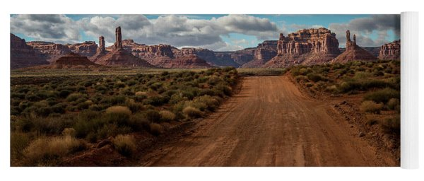 Valley Of The Gods Yoga Mat