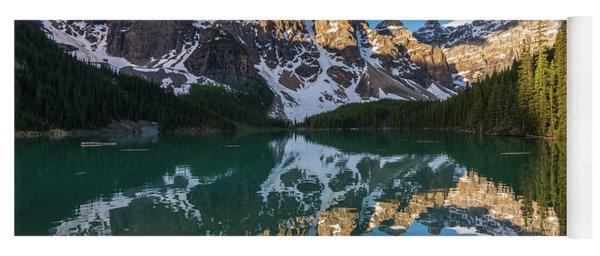 Valley Of The Ten Peaks Lake Moraine Yoga Mat