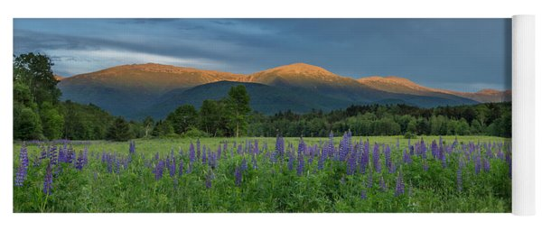 Valley Way Lupine Sunset Yoga Mat
