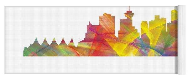 Vancouver B.c. Skyline Yoga Mat