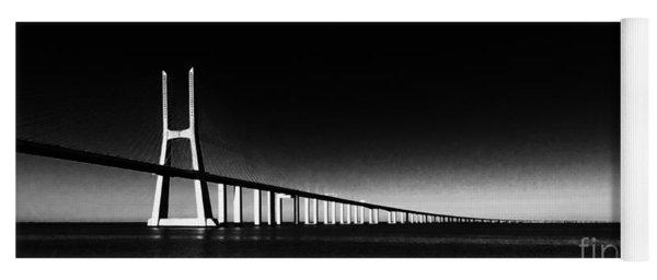 Vasco Da Gama Bridge Lisbon 2 Yoga Mat