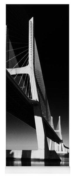 Vasco Da Gama Bridge Lisbon 4 Yoga Mat