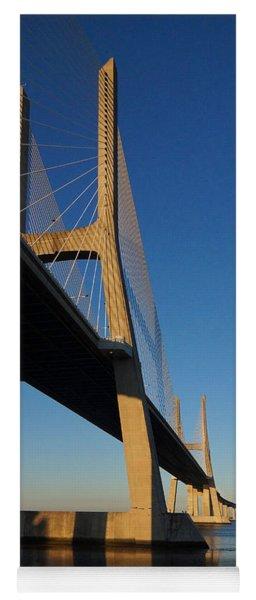 Vasco Da Gama Bridge Lisbon 3 Yoga Mat